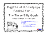 The Three Billy Goats - Comprehension Packet