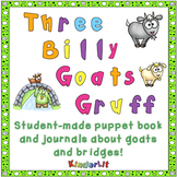 Three Billy Goats Gruff Student Collage Book and Two Writi