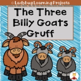 The Three Billy Goats Gruff (Emergent Reader, Teacher Lap Book, & Picture Cards)