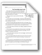 The Three Billy Goats Gruff (A folk tale)