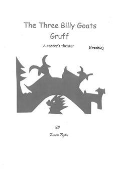 The Three Billy Goats Gruff - A reader's theater freebie