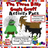 The Three Billy Goats Gruff - Activity Pack - Story, Worksheets, Crafts, Games