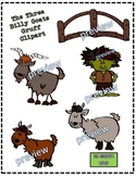 The Three Billy Goats Gruff Clipart
