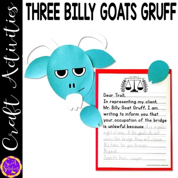 The Three Billy Goats Gruff Craft Activity