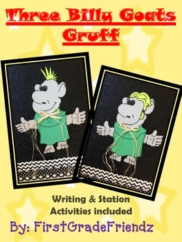 The Three Billy Goats Gruff Craftivity