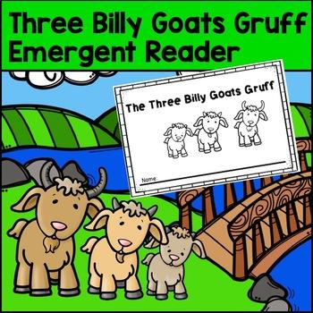 The Three Billy Goats Gruff Emergent Reader
