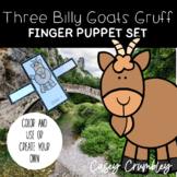 The Three Billy Goats Gruff Fairy Tale Finger Puppet Retelling Set