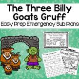 The Three Billy Goats Gruff Kindergarten Sub Plans