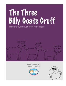 The Three Billy Goats Gruff Lesson Plan Ideas