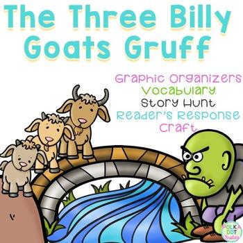 The Three Billy Goats Gruff {Literacy Unit}