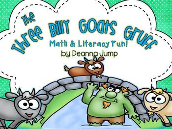 The Three Billy Goats Gruff Math & Literacy Fun!  Common Core Aligned