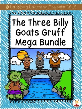 The Three Billy Goats Gruff Mega Bundle {Ladybug Learning Projects}