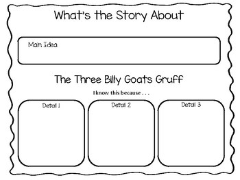The Three Billy Goats Gruff ~  Paul Galdone 47 pages Common Core Activities