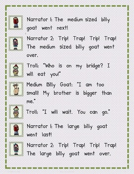 Reader's Theater: The Three Billy Goats Gruff