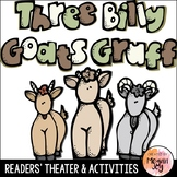 The Three Billy Goats Gruff Readers' Theater Play & Activities