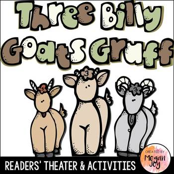 The Three Billy Goats Gruff Readers' Theater Play and Lite