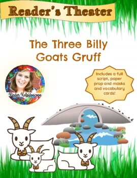 The Three Billy Goats Gruff Readers Theatre for Kindergarten