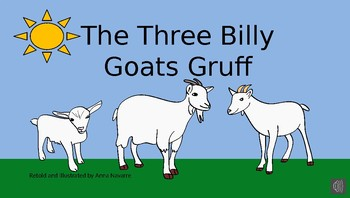 The Three Billy Goats Gruff Story on Power Point