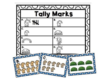 The Three  Billy Goats Gruff Tally Marks Activity