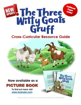 Three Billy Goats Gruff - Poem and Cross-Curricular Activity Kit