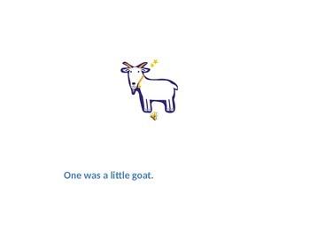 The Three Billy Goats Gruff - power point presentation