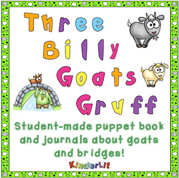 Three Billy Goats Gruff - A Student Collage Book and Two Journals