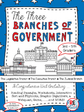 The Three Branches of Government {Reading Passages, Centers, and Mores!}