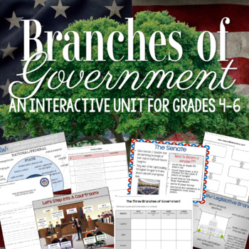 The Three Branches of U.S. Government Unit
