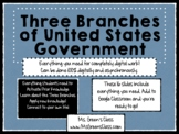 The Three Branches of US Government Student Resource & Act