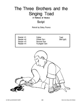 The Three Brothers and the Singing Toad