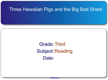 The Three Hawaiian Pigs and the Big Bad Shark test