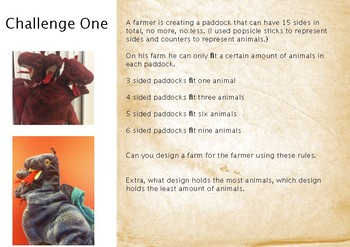 The Three Headed Colour Changing Dragon - Number Agent Challenges