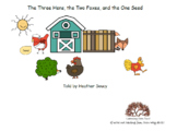 The Three Hens, the Two Foxes, One Seed BUNDLE - Little Re