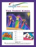 Art Lesson The Three Kings
