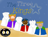 The Three Kings Clipart, Los Reyes Magos, Three Wise Men Clip Art