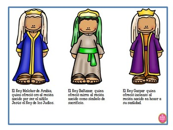 The Three Kings Day in Spanish
