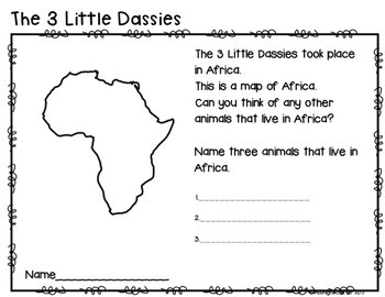 The Three Little Dassies and The Three Little Pigs Book Study