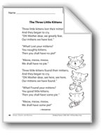 The Three Little Kittens (A rhyme)