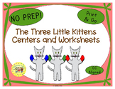 The Three Little Kittens Worksheets Activities Games Print