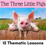 The Three Little Pigs Activities with CCSS Reading, Writin