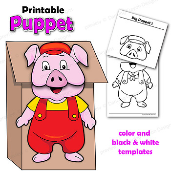 The 3 little pigs activities + free printables -.