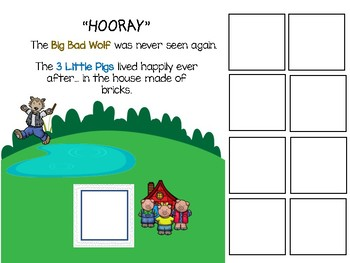 The Three Little Pigs... Adapted Book and Learning Activities