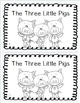 The Three Little Pigs: 4 Differentiated Emergent Readers Levels 1,2,3-4, & 6