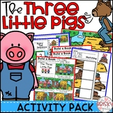 The Three Little Pigs Activities (Reader, Sequencing & More)