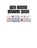 The Three Little Pigs Adapted Book