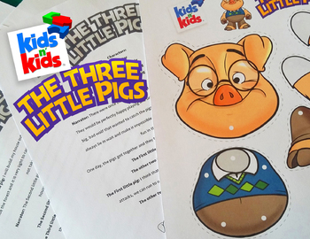 The Three Little Pigs, An Act-It-Out play