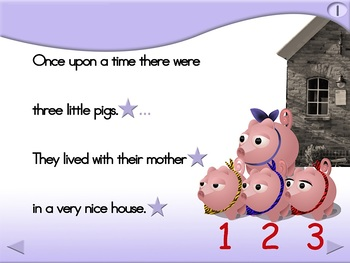 The 3 Little Pigs - Animated Step-by-Step Story - Regular