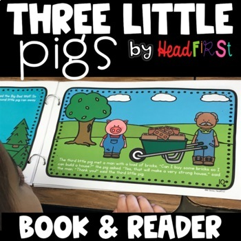 The Three Little Pigs Book and Student Reader