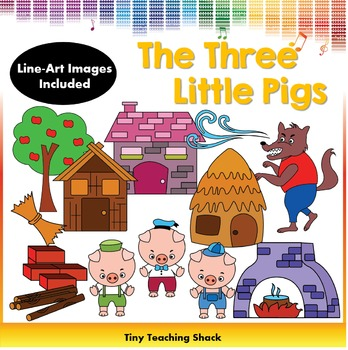 The Three Little Pigs Clip Art