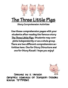 Superb image within three little pigs story printable
